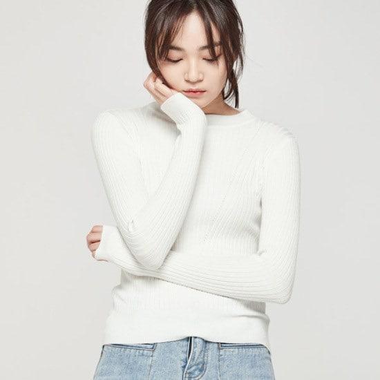 ナインNAINシンプルゴルジニートT3547 ニット/セーター/韓国ファッション