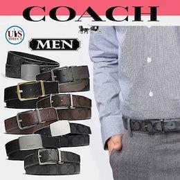 ✨ギフトボックス対応✨💖送料無料💖ニューヨーク直送💖【COACH MENS/コーチ男性】【正規品】★全品特集SALE💛コーチ メンズ ベルト💛F55158