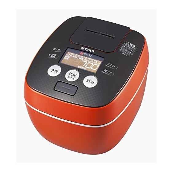 タイガー魔法瓶タイガー魔法瓶 タイガー 炊飯器  圧力 IH アーバン 炊きたて 炊飯 ジャー  Tiger [オレンジ][5.5合] / JPB-G102-DA