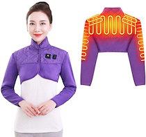 電気肩パッド 70℃63℃56℃ 電熱 ベスト ヒーター 加熱 肩掛け パッド 肩用 サポーター