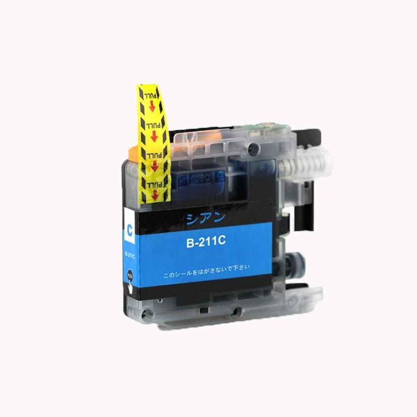 LC211C 単品 シアン BR社 プリンター用互換インク ICチップ付 残量表示