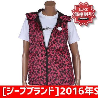 [ジープブランド]2016年S/S女性専用メッシュ配色フードベストGB2JPF704 /ベスト/チョッキ/韓国ファッション