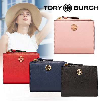 designer fashion 30034 839ef トリーバーチ🔥コスパ祭り特価中!!!🔥 ✨TORY BURCH ☆ ROBINSON MINI WALLET✨ トリーバーチ 2つ折財布 ミニ財布  かわいい 限定SALE! お早めに♪♪
