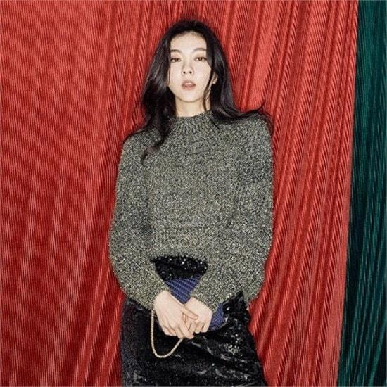 メグジェイMAGJAY行き来するようにメグジェイゴルドゥポルラウンドネックニートJ92PNT262 ニット/セーター/ニット/韓国ファッション