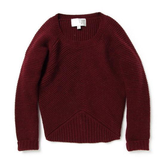 ペノムペノムJOARAGLAN LONG SLEEVE TOPP156MSW008W パターンニット/ニット/セーター/韓国ファッション