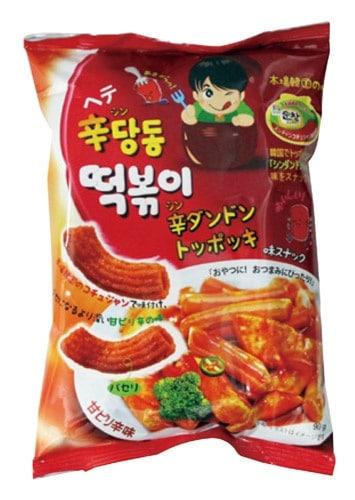 『ヘテ』辛ダンドントッポキ(75g) 甘辛 シンダンドン トッポギ スナック 韓国お菓子 韓国食品