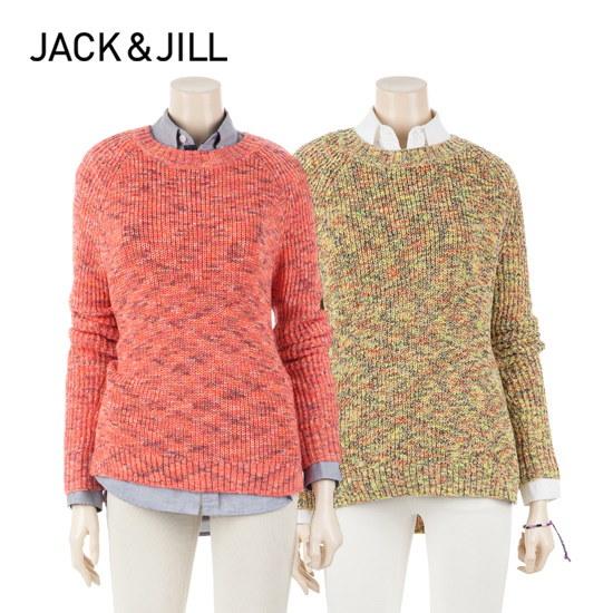 ジャック・アンド・質ジャック・アンド・質女性マルチカラーブルオーバーセーター32151SR503 ニット/セーター/ニット/韓国ファッション