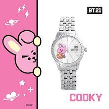 BTS (防彈少年團) BT21 x O.S.T Collaboration Official Goods : BT21 Bezel Metal Watch