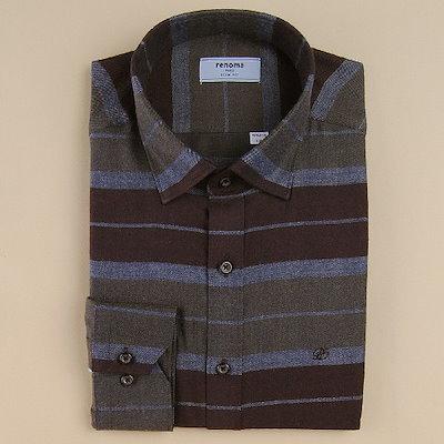[AK公式ストア]【renoma shirts]秋身上スリムフィット長袖シャツRIFSL0142-OR
