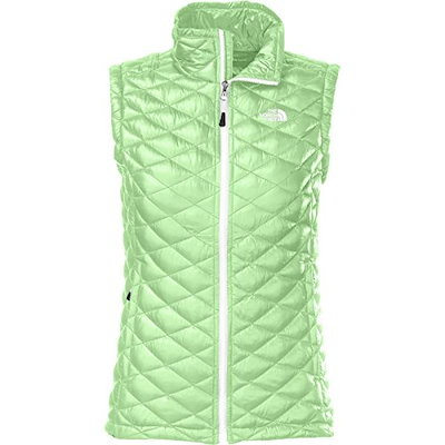 The North Face Thermoball Vest Womens Green Ash L
