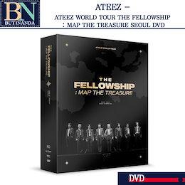 【ATEEZ-当店特典+】 ATEEZ WORLD TOUR THE FELLOWSHIP : MAP THE TREASURE SEOUL DVD