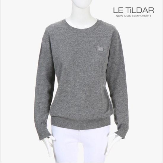 ルティルダベーシックラウンドニット ニット/セーター/ニット/韓国ファッション