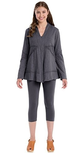Neon Buddha Womens Forever Young Jacket Medium Dark Grey