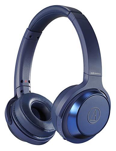 オーディオテクニカ audio-technica ワイヤレスヘッドホン 重低音 最大70時間再生 オンイヤー密閉型 ATH-WS330BT BL/Bluetooth対応 ブルー