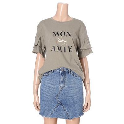 オチョクMONAMIEティーシャツ71513132 プリント/キャラクターシャツ / 韓国ファッション