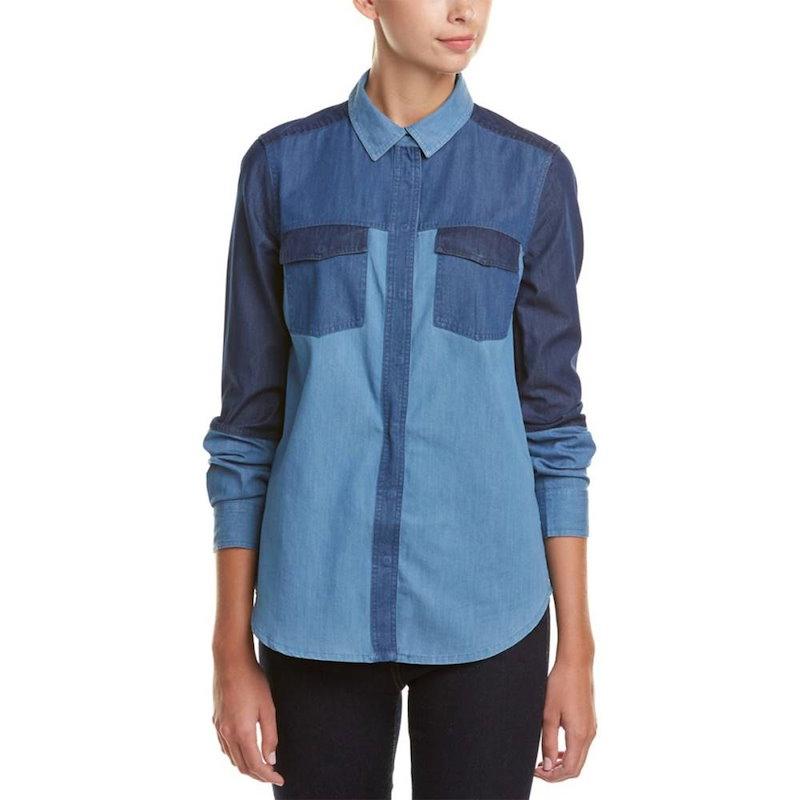 フレンチコネクション レディース トップス カジュアルシャツ【French Connection Koh Shirt】Blue