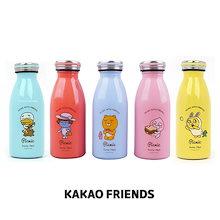 【Kakao friends】カカオフレンズピクニックミルキステンボトル/Kakao friends picnic milky stainless bottle/5種・350ml