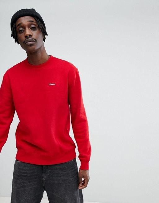 Brixton Westchester Sweatshirt With Script Logo
