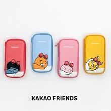【Kakao friends】カカオフレンズ・リボンマルチペンケース・ポーチ/Kakao friends ribbon multi pen case pouch/4種・115X210X20㎜