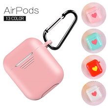 エアポッドシリコンケース/Apple Airpods Air Pods Silicone Case Protective Cover Pouch Anti Lost Protector Elegant