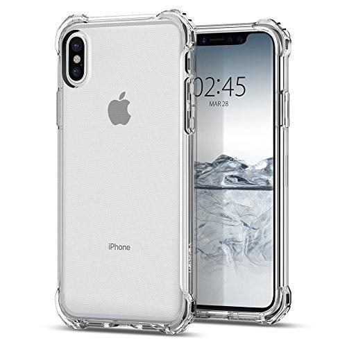 Qoo10のiPhoneX ケース spigen