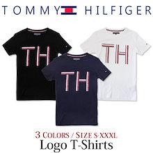 \今ならクーポンでさらにお得/【ゆうパケット送料無料】トミーヒルフィガー Tシャツ メンズ カットソー 半袖Tシャツ THロゴ 文字 夏 春夏 おしゃれ ブランド アウトレット TOMMY HILFI
