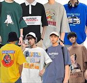 b1c21485e55f0 【2送料無料】2019メンズファッション メンズ Tシャツ 半袖Tシャツ トップス アメカジ