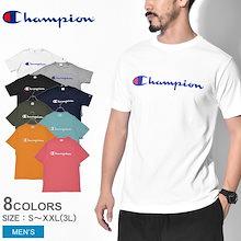 チャンピオン CHAMPION 半袖Tシャツ ベーシック ロゴ Tシャツ BASIC LOGO T-SHIRT C3-P302 メンズ ウエア 半袖 ワンポイント ロゴ トップス カットソー プリント