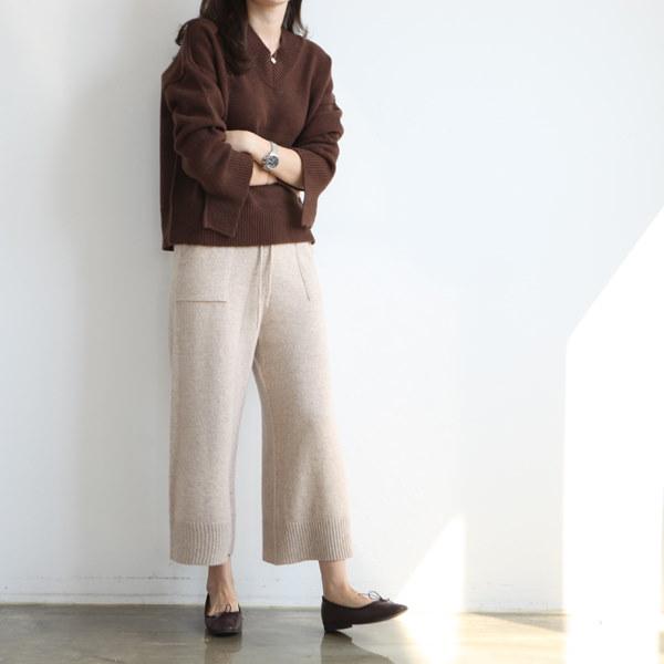 ショールームプラケットニート3color ニット/セーター/ニット/韓国ファッション