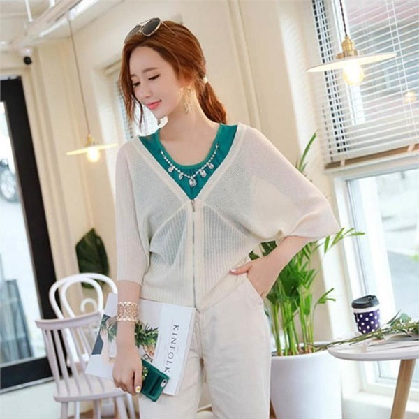 スタイルオンミジッパークロージング・翼カディゴンnew 女性ニット/カーディガン/韓国ファッション