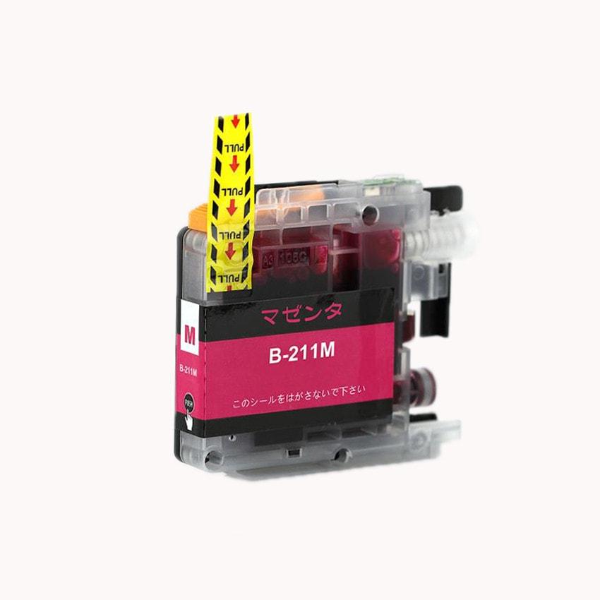 LC211M 単品 マゼンタ BR社 プリンター用互換インク ICチップ付 残量表示