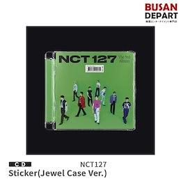 2種セット Jewel Case Ver 初回ポスター NCT 127 正規3集 Sticker