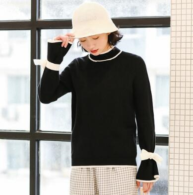 [55555SHOP]2017秋冬スクール風ファッション/ニットセーター/青春活力/ラグランスリーブ