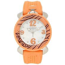 4a5216b145 ガガミラノ 時計 GAGA MILANO 7020.05 LADY SPORTS レディースポーツ クォーツ レディース腕時計ウォッチ ホワイトパール/