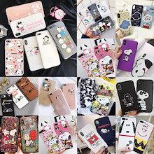 Snoopy collection 超かわいいスヌーピーiPhoneXrケースiPhoneXs MaxケースiPhoneXケースiPhone7ケースiphone8ケースIPHONEケース6/6s