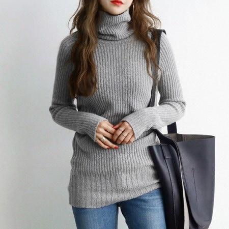 エフロン段ボールポーラニットkorean fashion style