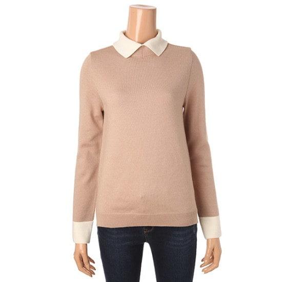 ロエムカラ配色ニットティーRMKA711RQ2 カラーニット/ニット/セーター/韓国ファッション
