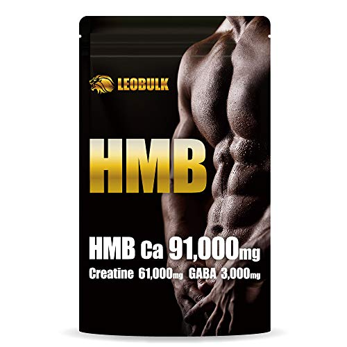 LEOBULK HMB 91000mg クレアチン 61000mg GABA 3000mg 450粒