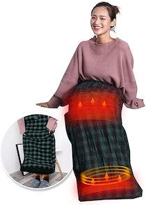 ホット足入れヒーター あったか ホット 脚入れ ヒーター 電気 足温器 足温機 毛布 カーペット