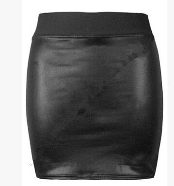 PUスカート タイトスカート スカート ペチコート 新しい秋と冬の古典的な革のスカートパッケージヒップスカートスカートPU