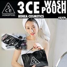 ❤500円割引クーポン適用❤[韓国コスメ/韓国化粧品/韓国ファッション/ STYLENANDA]3CE WASH BAG 3CE POUCH/3CE POUCHSMALL/ポーチ化粧品のバッグバッグ