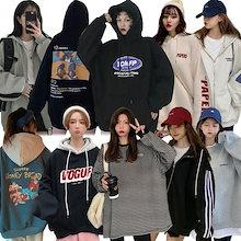パーカー 2021秋冬新作韓国ファッション/秋服/トレーナー/Tシャツ/スウェット男女兼用トップス