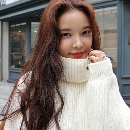 リプハプLIPHOPパフタートルネックニットニート ニット/セーター/ニット/韓国ファッション