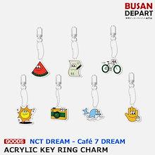 【日本国内発送】 NCT DREAM [02 ACRYLIC KEY RING CHARM - Cafe 7 DREAM] 公式 SM 1次予約 送料無料