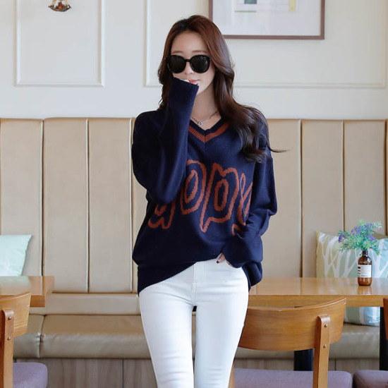 シークフォックスもピースブイネク・ニット ニット/セーター/ニット/韓国ファッション