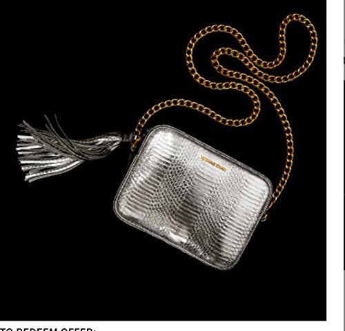 Victoria s Secret Official Crossbody Bag Of The Fashion Show Silver With Chain-3619  polo