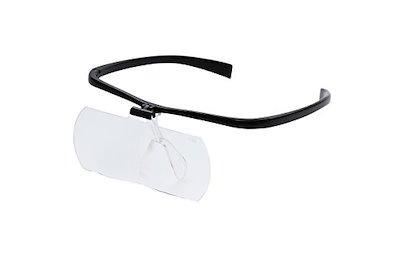 Kenko ルーペ 双眼メガネルーペ 1.6倍 ブラック KTL-207-BK