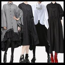 国内発送、送料無料、韓国ファッション、超低価パルス販売、自社設計生産、欧米風秋の新しいスタイル、カジュアルTシャツ、カジュアルシャツ、ワンピース、カジュアルパンツ、ロングスカート、パンタロン、ボーダ