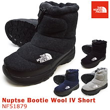 the noth face ザノースフェイス NF51879 CH KK  NV MG NNuptse Bootie Wool 4 Short ヌプシ ブーティー ウール 4 ショート  ユニセックス