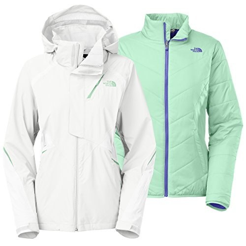 The North Face Kira Triclimate Jacket Womens TNF White XL